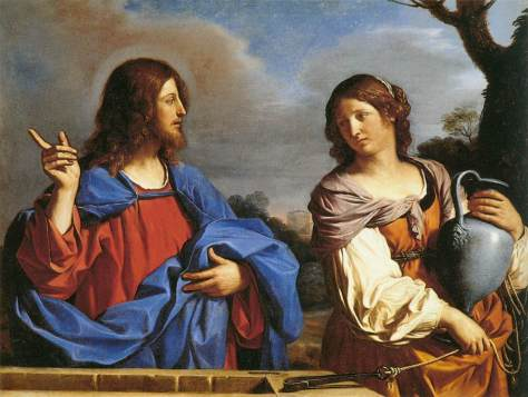 Jesus and the Samaritan Woman at the Well - by Guernico - Wikimedia Commons